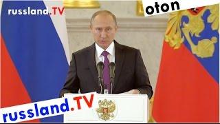 Putin an Präsident Trump auf deutsch