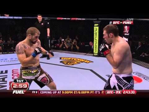 2012 12 15 Cody Donovan vs Nick Penner UFC on FX 6   Sotiropoulos vs Pearson)