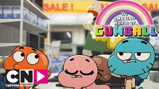Centre commercial | Le monde incroyable de Gumball | Cartoon Network Italie