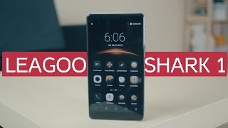Leagoo Shark 1 распаковка и небольшое сравнение с Meizu Pro 5