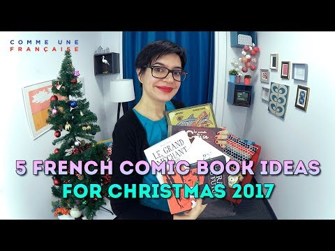 5 French Comic Books: Gift Ideas for French Language Learners