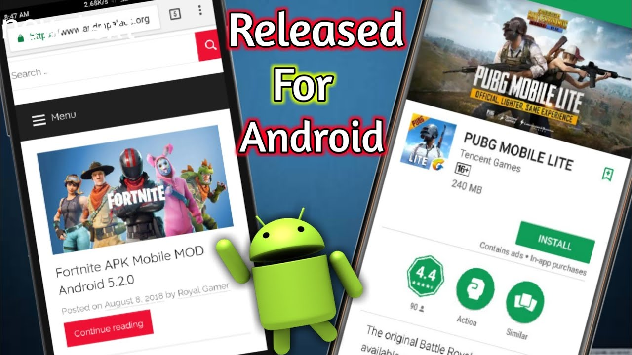 Pubg Mobile Lite Launched On Android: Pubg Mobile Lite For Android