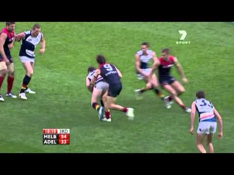 Jack Trengove's Tackle on Patrick Dangerfield - Round 7, 2011