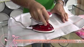 Aprenda a técnica do adesivo termocolante