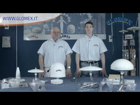 Glomex Marine TV antennas for boats - English video