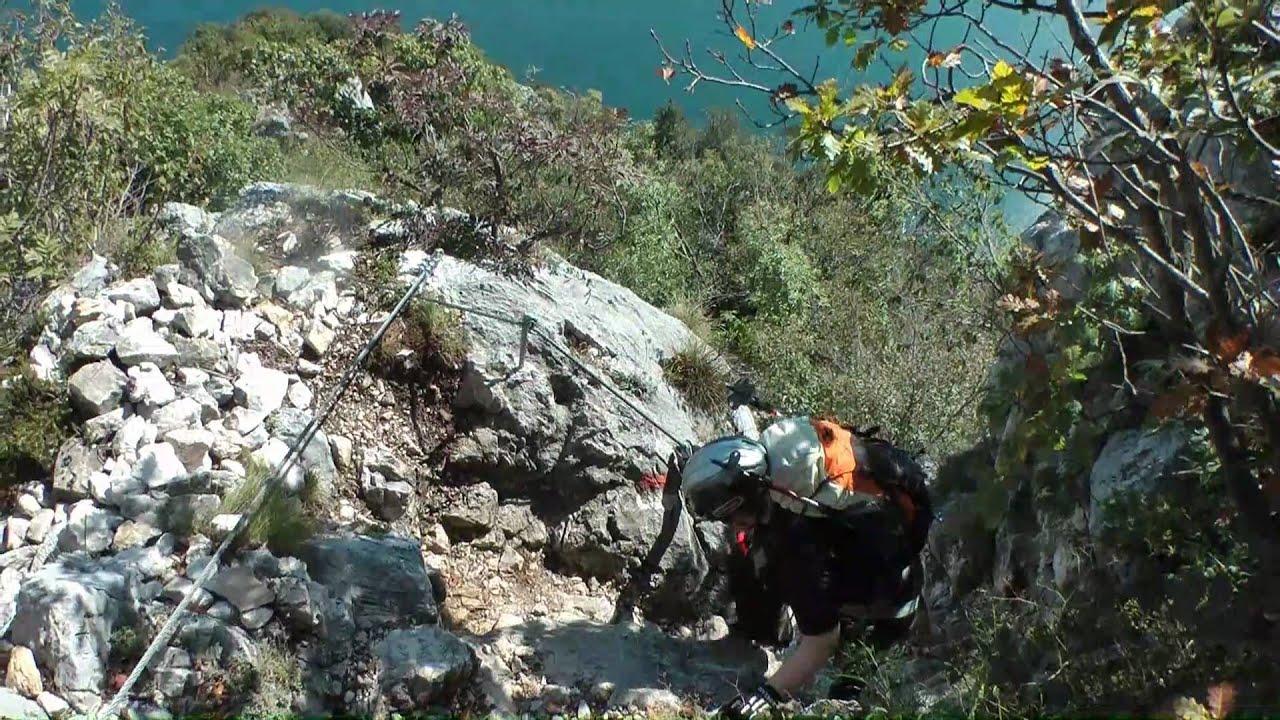 Klettersteige Gardasee : Susatti klettersteig via ferrata gardasee full hd youtube