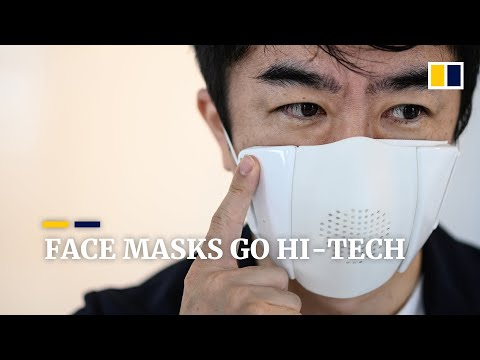 From translation, monitoring vitals signs to purifying air, face masks go hi-tech