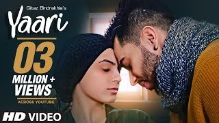 Yaari Gitaz Bindrakhia Punjabi Song | Intense, Navi Ferozpurwala | Latest Punjabi Songs 2019 Mp3 - Mp4 Song Free Download