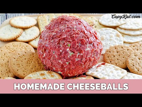 Two Easy Cheese Ball Recipes