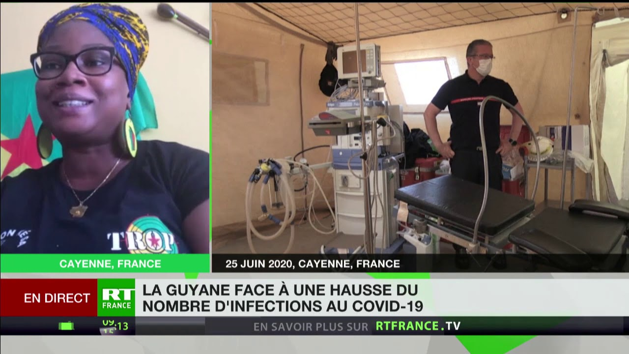 Covid-19 en Guyane : «La situation est catastrophique, assez dure à vivre pour les Guyanais»