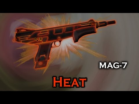Heat MAG-7 StatTrak Stickers Skin Preview FN/MW/FT/WW/BS