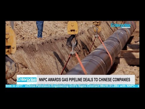 NNPC Awards Gas Pipeline Deals to Chinese Companies