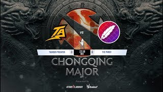 Dota 2 en vivo   Thunder vs The Pango   Alliance vs Chaos E.C.   Chongqing Major Main Event Playoffs