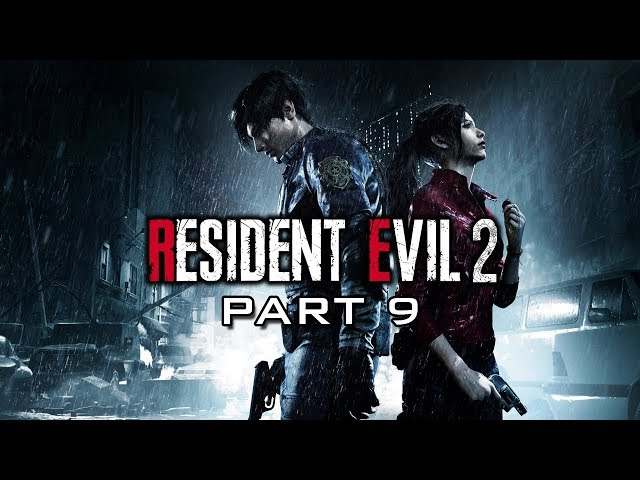 Leaving RPD and into the Sewers | Resident Evil 2 Remake Part 9
