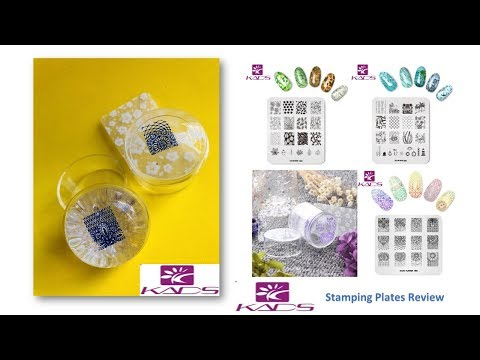 KADS Stamping Plates/Clear Stamper Review & Swatch. (From AliExpress)