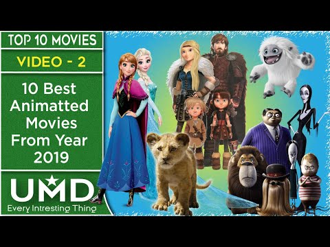 Top 10 Best Animated Movies of 2019 Recommended | UMD