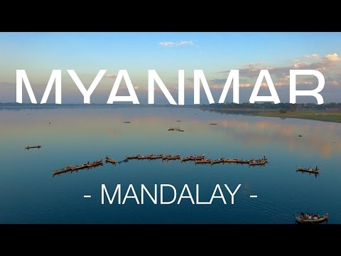 Land of Golden Pagodas (2/4) - Myanmar | Mandalay (4k, drone)