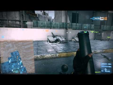 BF3 M224 Mortar Multikill and destroying the tank