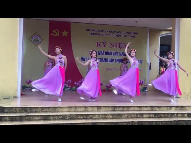 """Giải Nhất Múa Son 12A """"HD""""(cover)  tuyệt vời - THPT Nguyễn Hữu Cảnh"""