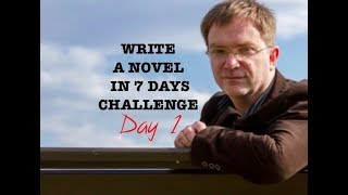 Day One of the seven-day-novel-challenge