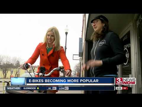 E-Bike popularity growing in Omaha