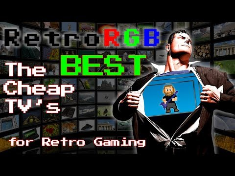 Cheap 4K TV's For Retro Gaming