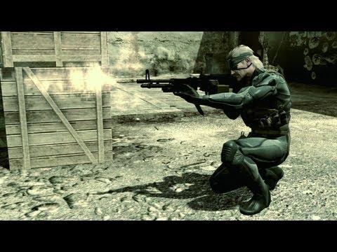 Metal Gear Solid 4 Прохождение с переводом Часть 1