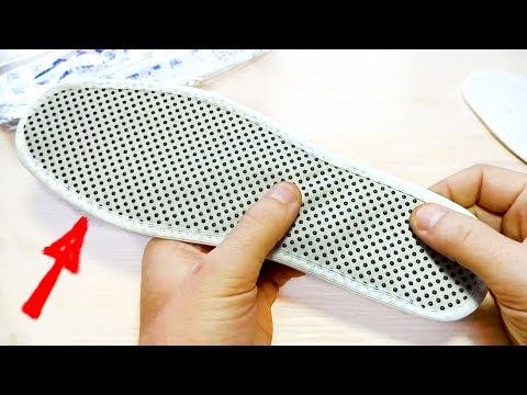 видео: Эти стельки греют без батарей!? Согревающие стельки с турмалином с aliexpress.