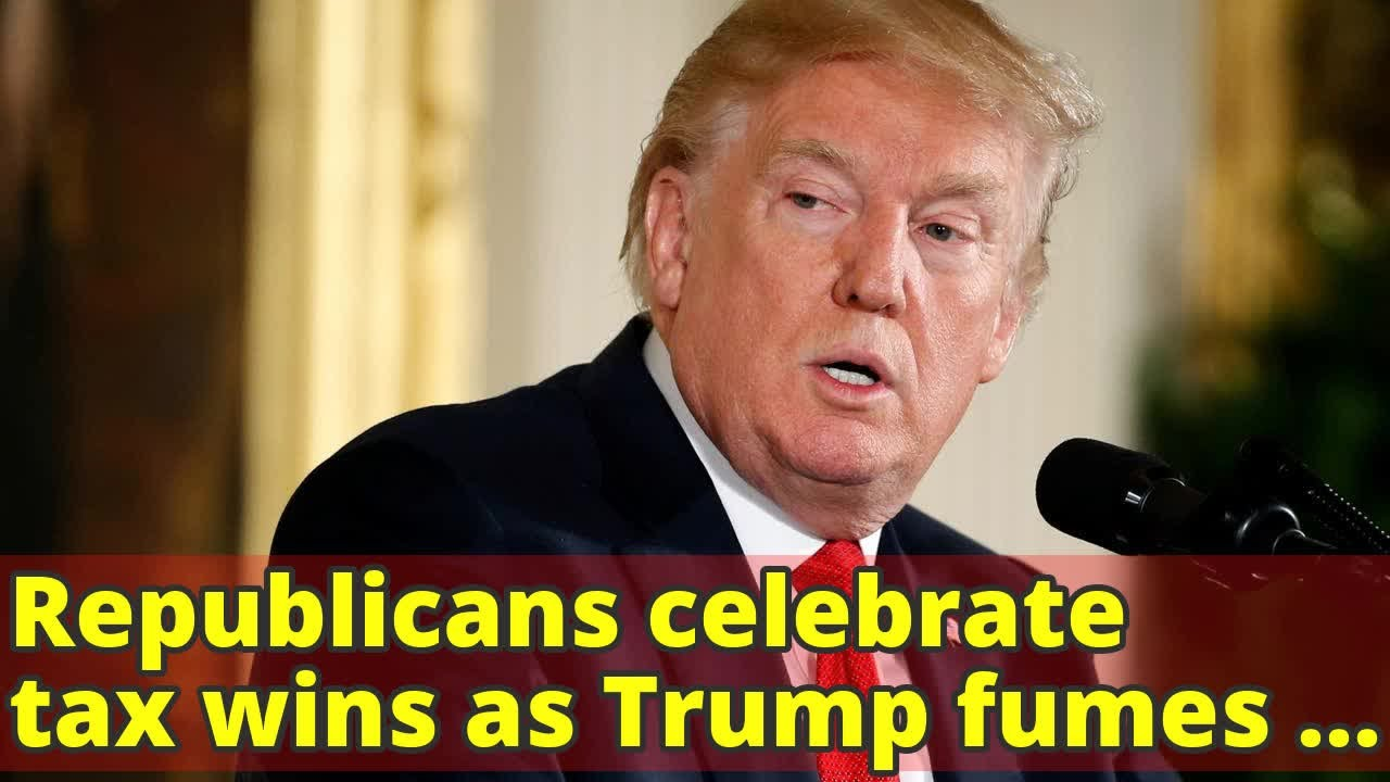 Image result for Republicans celebrate Tax Deal