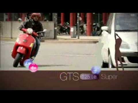 画像: Vespa GTS 125 Super - Official Video youtu.be