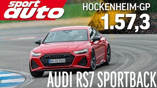 Audi RS7 Sportback | Hot Lap Hockenheim-GP | sport auto