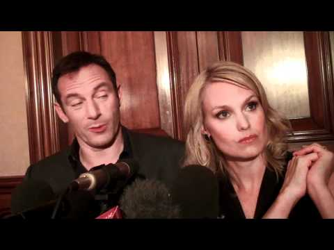 JASON ISAACS  LAURA ALLEN ON THE PREMISE OF THE SHOE.mp4