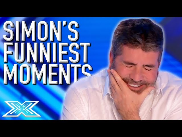 When Simon Cowell Cant Stop LAUGHING | X Factor Global