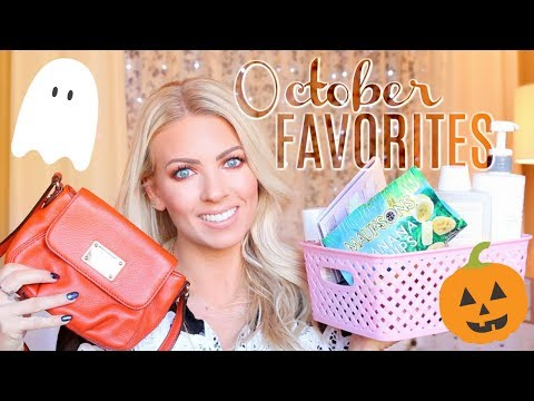 😍 OCTOBER FAVORITES 😍