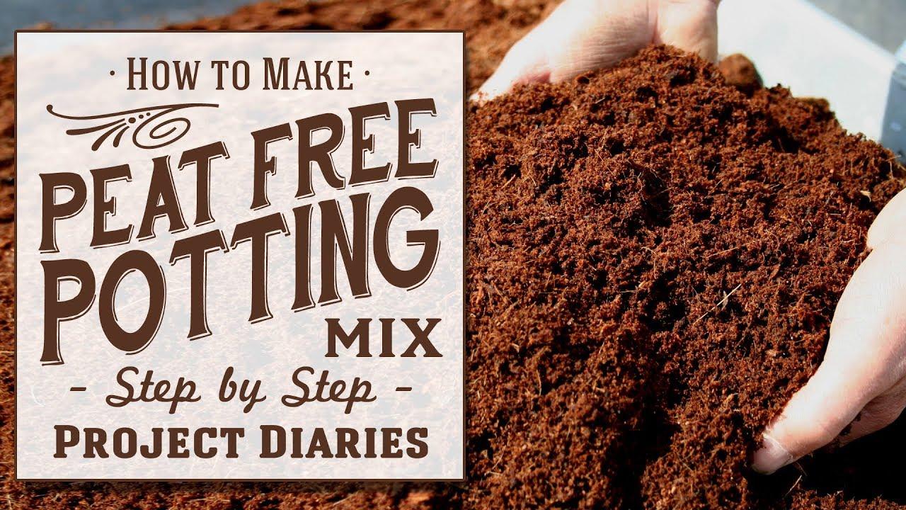 Cheap Homemade Peat Free Potting Mix
