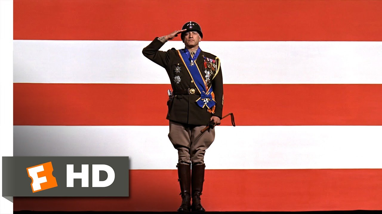 Patton (1/5) Movie CLIP - Americans Love a Winner (1970) HD