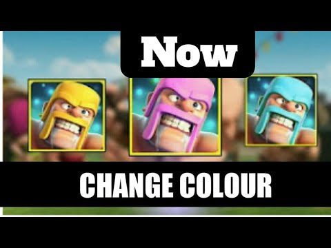HOW TO CHANGE COLOUR OF CLASH OF CLAN ICON !! 100% WORKING TRICK TO CHANGE COLOUR !