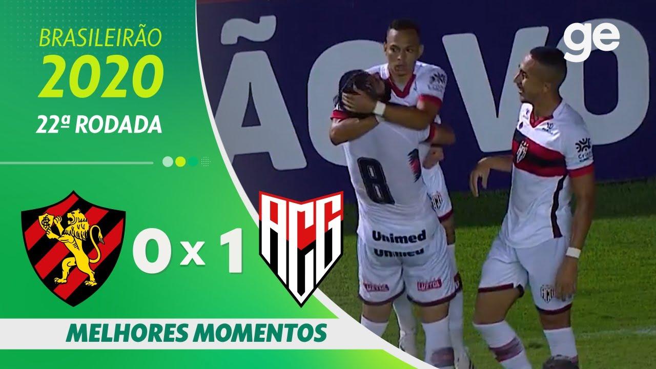 SPORT 0 X 1 ATLÉTICO-GO | MELHORES MOMENTOS | 22ª RODADA BRASILEIRÃO 2020 | ge.globo