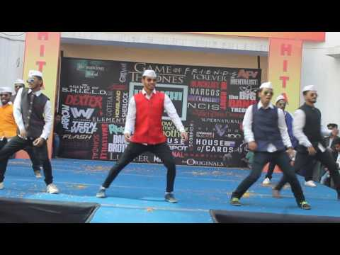 Govinda style dance @ HITAISHI 2017 (VIVA Institute Of Tech.)