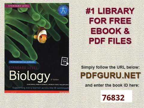 A Level Biology Pdf
