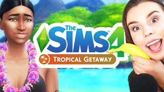 Tropical Vacation in The Sims 4!  [ The Sims 4 Tropical Mod ]
