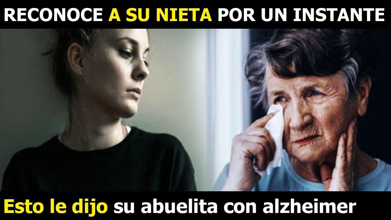 Abuelita Con Alzheimer Reconoce Por Un Instante A Su Nieta No Creerás Lo Que Le Dijo
