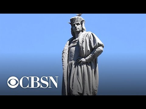 Should statues of Christopher Columbus come down?