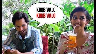 Varun Speaking Bengali I October I Varun Dhawan I Banita Sandhu