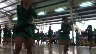 FRESHMEN CHEER DANCE FROM HFS 2012 ♥