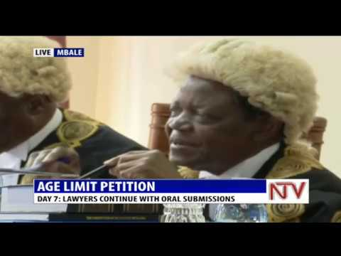 DAY 7:  AGE LIMIT PETITIONS   CONSTITUTIONAL COURT HEARING IN MBALE