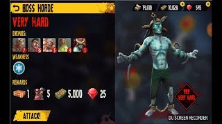 Dead Island: Survivors Android Gameplay (ISLAND FREED:3/ BOSS HORED/ VERY HARD) [1080P]