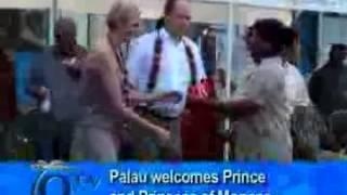 Palau welcomes Prince and Princess of Monaco