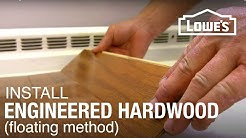 Engineered Hardwood Floor Installation: Part 1