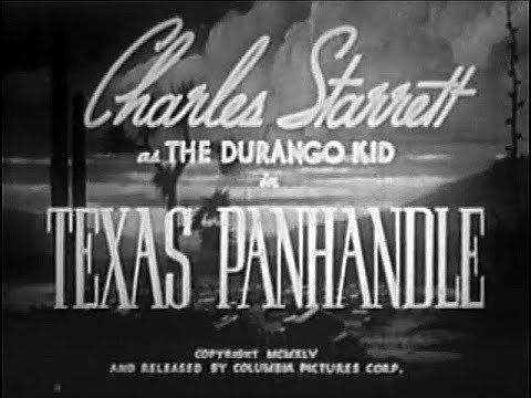The Durango Kid - Texas Panhandle - Charles Starrett, Tex Harding